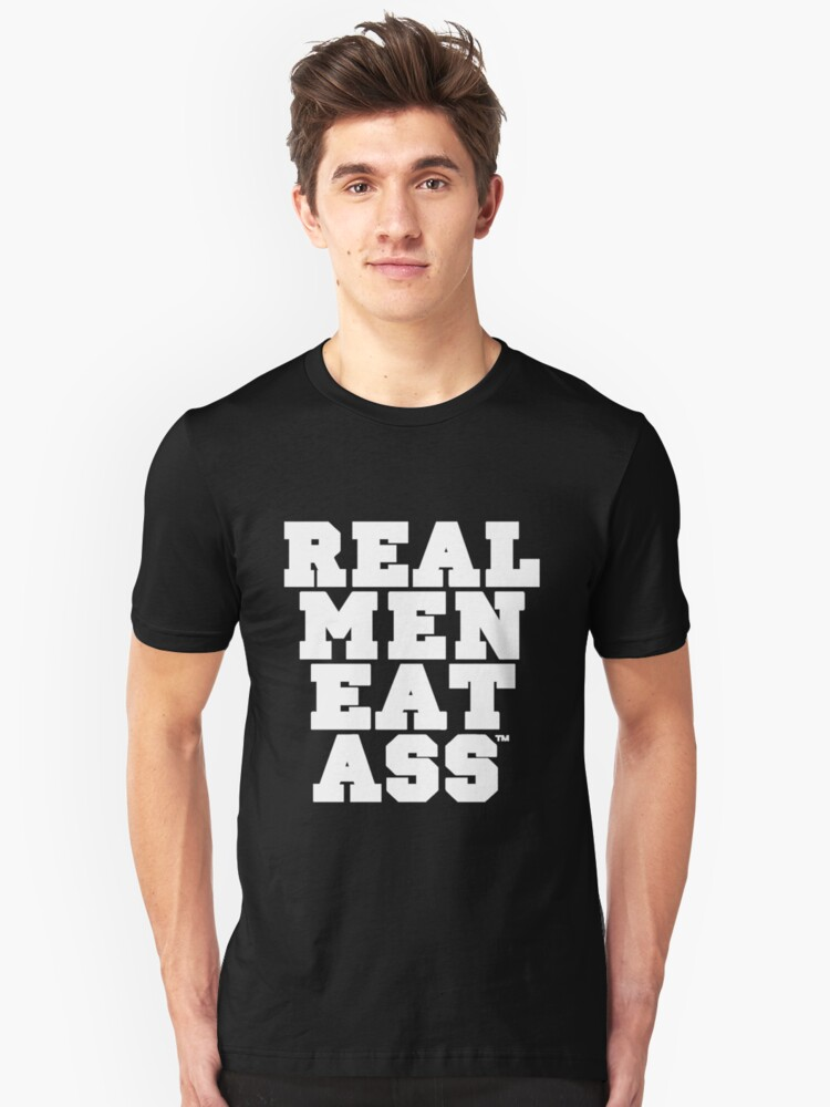REAL MEN EAT A** by latifakadhafi