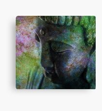 Buddha Head 4 Canvas Print