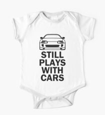 Still plays with cars - supra One Piece - Short Sleeve
