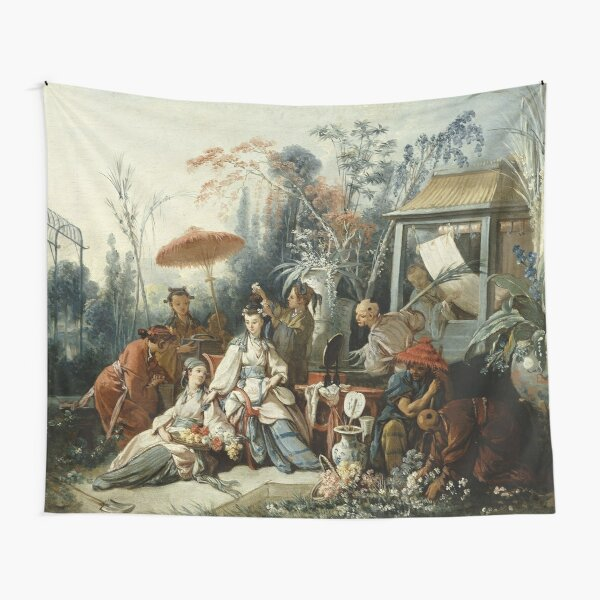 Le Jardin Chinois by François Boucher Tapestry