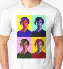 Warhol's Sherlock/Benedict Cumberbatch  T-Shirt