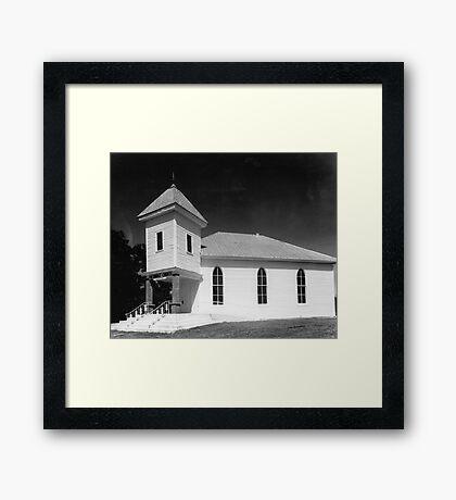 Methodist Church, Smith County Tennessee Framed Print