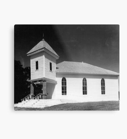 Methodist Church, Smith County Tennessee Metal Print