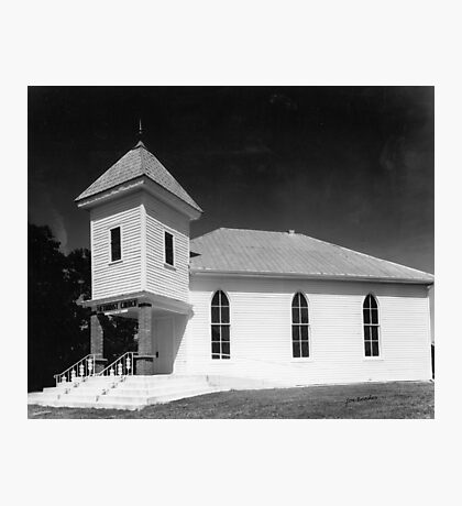 Methodist Church, Smith County Tennessee Photographic Print