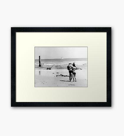 New Jersey Shore, 1964 Framed Print