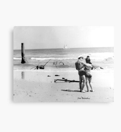 New Jersey Shore, 1964 Metal Print