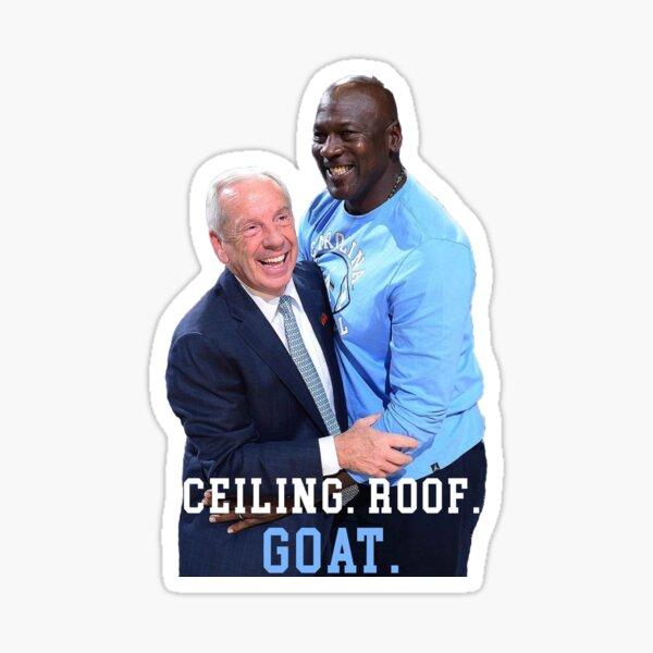 Michael Jordan GOAT Sticker