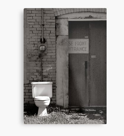 The Electric Outhouse Metal Print