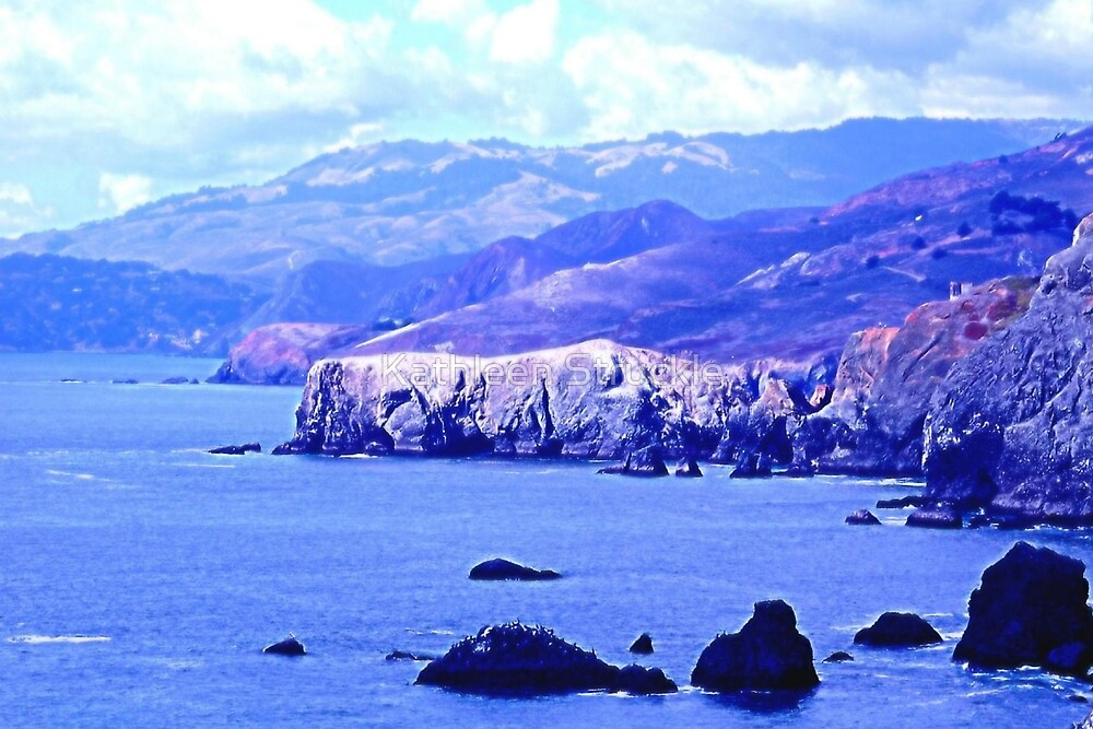 Scenic Bonita Cove by Kathleen Struckle