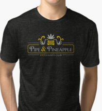 Pipe & Pineapple Tri-blend T-Shirt