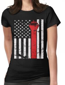 AMERICAN AIR TRAFFIC CONTROLLER T SHIRT Womens Fitted T-Shirt