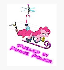 Pinkie Pie - Fueled by Pinkie Power Photographic Print