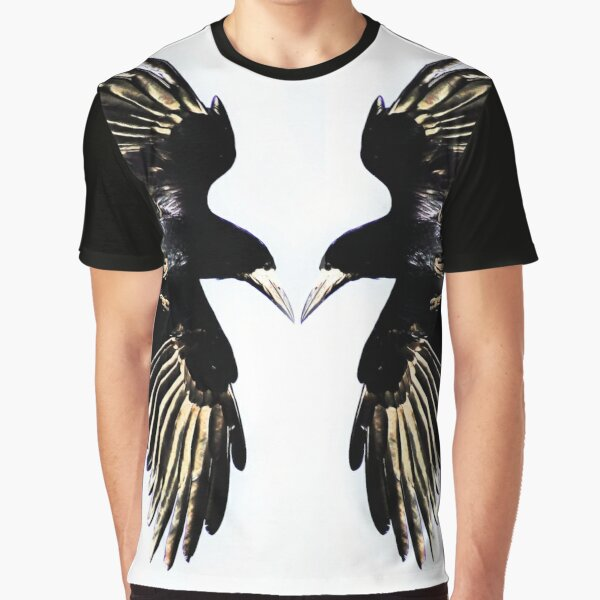 Huginn and Muninn Graphic T-Shirt