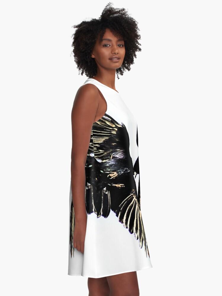 Alternate view of Huginn and Muninn A-Line Dress
