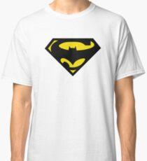 SuperBat - LOGO / SYMBOL Design (BLACK AND YELLOW) Classic T-Shirt