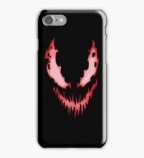 Face of evil iPhone Case/Skin