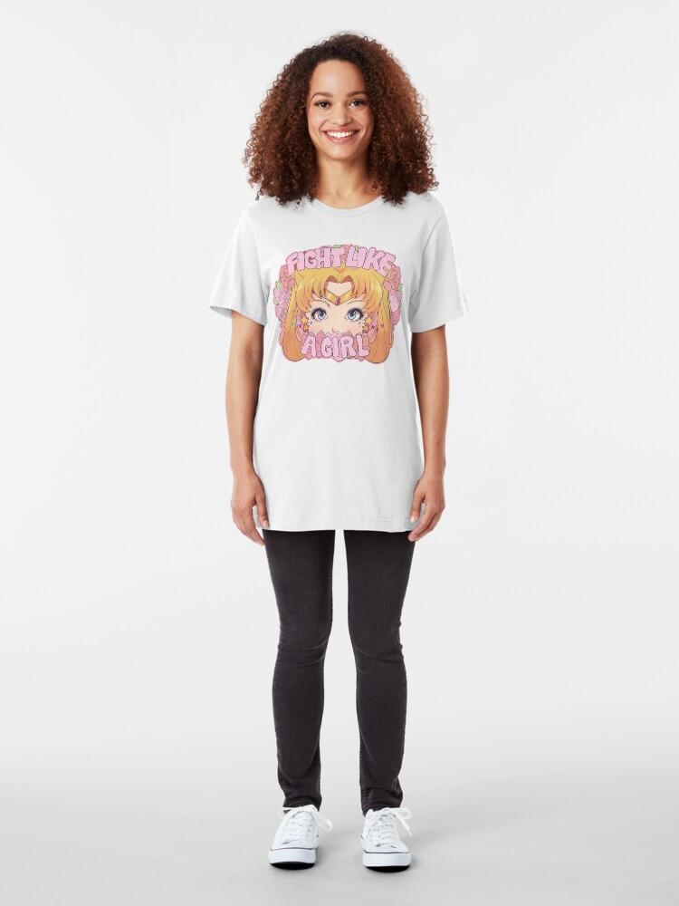 Alternate view of Usagi shirt Slim Fit T-Shirt