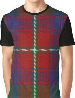 Roxburgh Red District Tartan  Graphic T-Shirt
