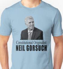 Neil Gorsuch: Constitutional Originalist Unisex T-Shirt