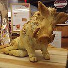 Bread Sculpture, Lower Manhattan, New York City by lenspiro