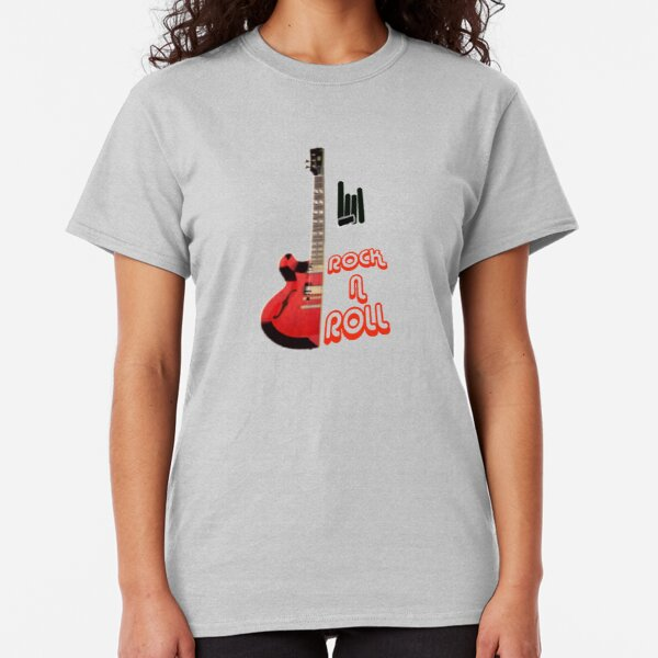NEW Screamin ROCK N ROLL T-Shirt ELECTRIC Guitars