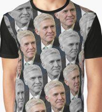 Neil Gorsuch Pattern Graphic T-Shirt