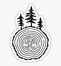 Redwood Rings Sticker