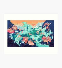 Ocean Thieves  Art Print