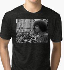 Angela Davis Speech Tri-blend T-Shirt