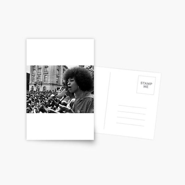 Angela Davis Speech Postcard