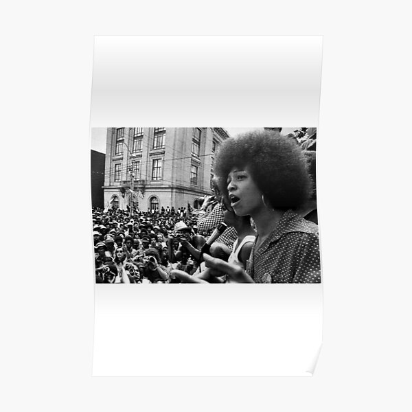 Angela Davis Discours Poster
