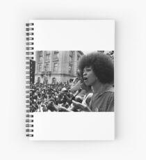 Angela Davis Speech Spiral Notebook