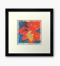 comb it through Framed Print