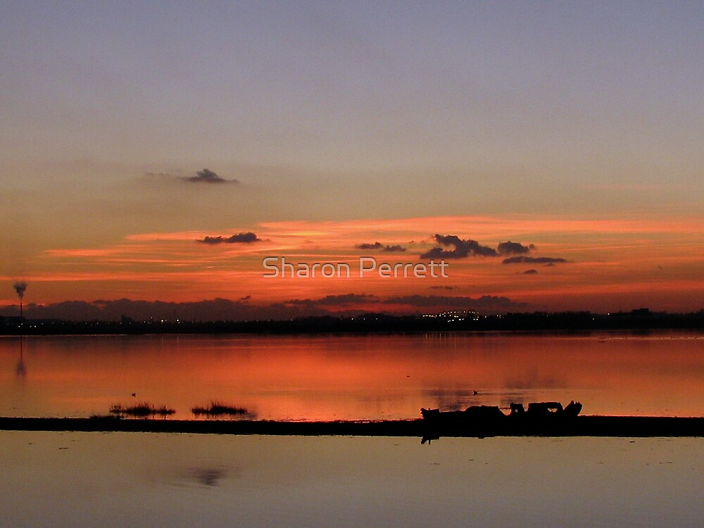 Sunset (1) - 15-11-07 by Sharon Perrett