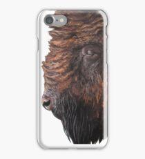 Buffalo Portrait Painting iPhone Case/Skin