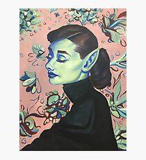 Audrey Hepburn, Waifish & Fae Photographic Print