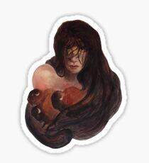 Lady Death Buffalo Woman Sticker