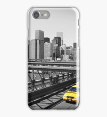 Yellow taxi iPhone Case/Skin
