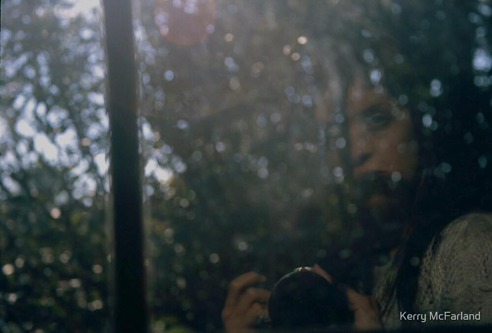 Raining again (Self-Portrait) by Kerry McFarland