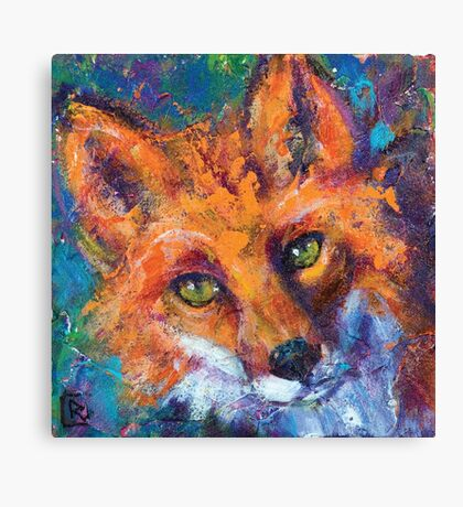 Earth Keeper: Red Fox Canvas Print