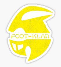 Foot-Klan Sticker