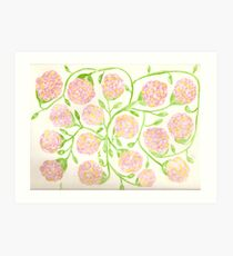 Johnathan James Florals - aquarium vine work  Art Print