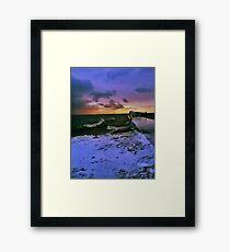 Spring on Lake Superior Framed Print