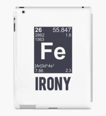 Ironic Chemical Element FE Irony iPad Case/Skin
