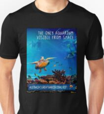 AUSTRALIA: Great Barrier Coral Reef Print Unisex T-Shirt