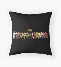 Super Street Fighter 2 Throw Pillow