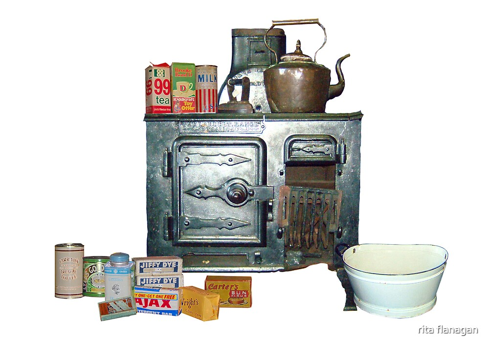 l'll put the kettle on then you can tell me all about it.  by rita flanagan