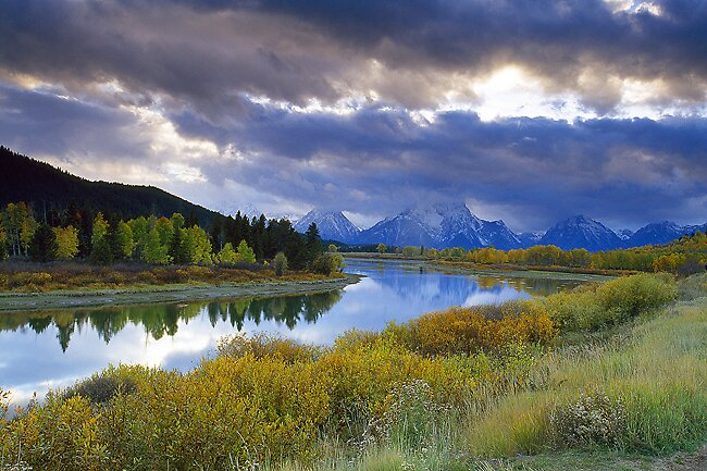 Ox Bow Bend by Ed Gordon