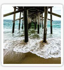 Newport Beach Pier Sticker