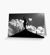 Statuesque Greeting Card